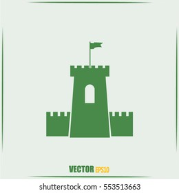 Vector icon fortress