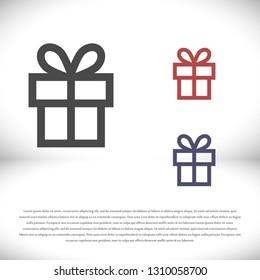 vector icon gift