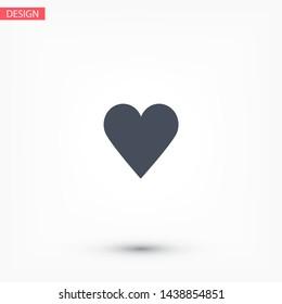 Vector icon heart 10 EPSVector icon heart 10 EPS . Lorem Ipsum Illustration design