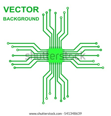 Tremendous Vector Icon Logo Printed Circuit Board Stock Vector Royalty Free Wiring 101 Swasaxxcnl