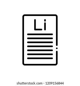 Vector icon for lorem ipsum
