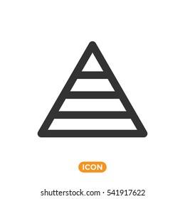 Vector Icon of Maslow Pyramid