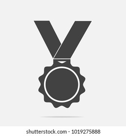 Vector icon medal. Medal of Honor, congratulations.