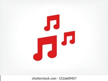 Vector icon melody 10 EPS . Lorem Ipsum Illustration design
