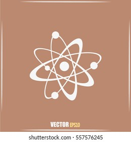 Vector icon Molecule Icon