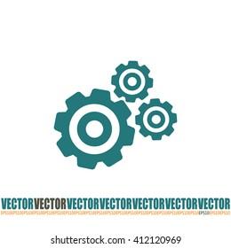 Vector icon pinion