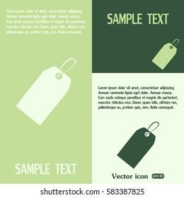Vector icon Sale tags.
