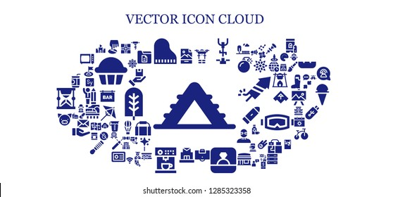 vector icon set. 93 filled vector icons. Simple modern icons about  - Ladder, Jpg, Position, Piano, Drone, Stationary bike, Area, Ring, Post office, Coffee machine, Pig, Soda