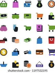 retail icon 9 retail vector icons stock vector royalty free
