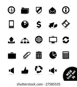 Vector icon set WEB [03b]