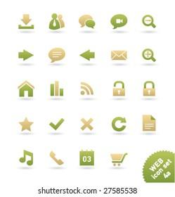Vector icon set WEB [04a]