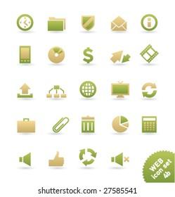 Vector icon set WEB [04b]