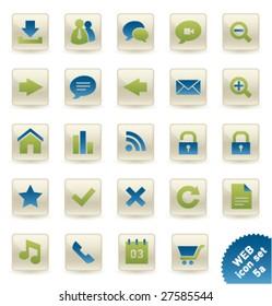 Vector icon set WEB [05a]