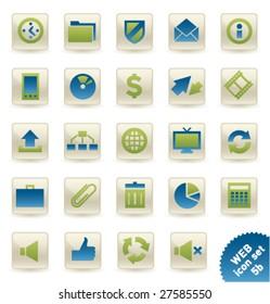 Vector icon set WEB [05b]