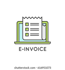 e invoicing images stock photos vectors shutterstock