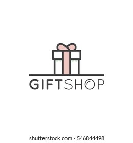 Gift Box Logo Images Stock Photos Vectors Shutterstock
