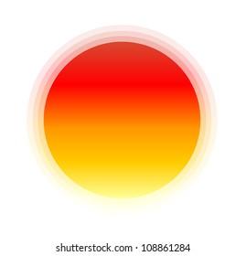 vector icon sun