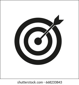 Vector icon target