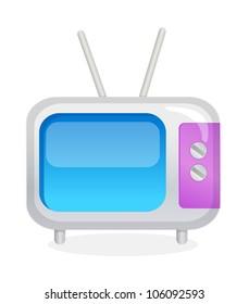 vector icon television