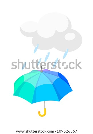 be3af60373ac Vector Icon Umbrella Stock Vector (Royalty Free) 109526567 ...