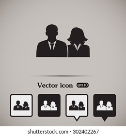 vector icon User group icon, Business Team Icon