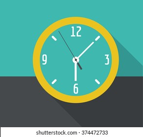 Vector icons of hours