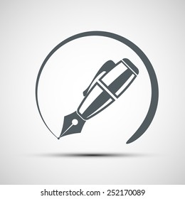 Vector icons pen