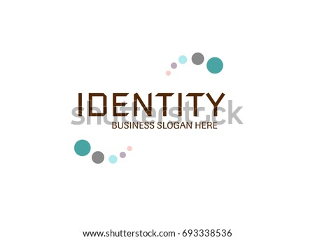 Vector - Identity logo design. Logo design for business and companies such as health, technology, security, biotechnology, corporate, scientific, medical, connection, development or research