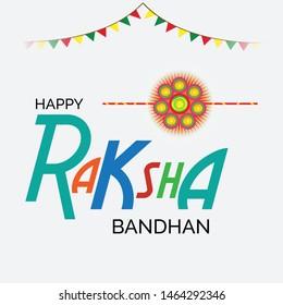 Vector Illustration of aBackground for Indian Religious Festival Raksha Bandhan.