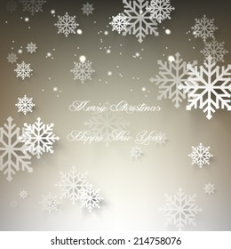 Vector illustration abstract 2015 Christmas Background - eps10