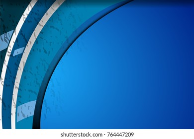 Vector illustration of Abstract Blue Backgrounds with space area for banner and advertising design, grunge texture