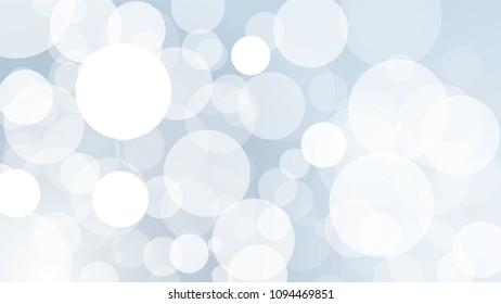 Vector Illustration, Abstract Bokeh circles light effect