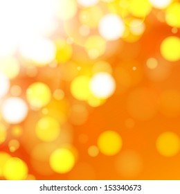 Vector Illustration of an Abstract Bright Background