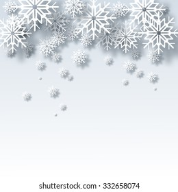 Vector illustration abstract Christmas Background