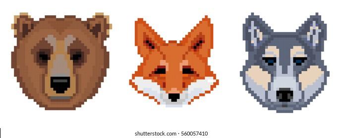 Images Photos Et Images Vectorielles De Stock De Fox Pixel