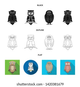 Vector illustration of animal and tattoo icon. Set of animal and wild vector icon for stock.