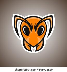 Vector illustration of ant. Sport mascot.