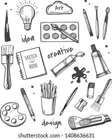 Creative Art Sketchbook Ideas
