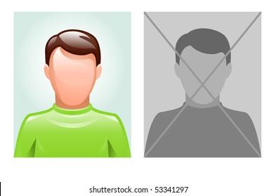 vector illustration of avatar
