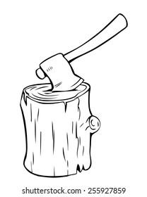 Tree Stump Cartoon Images, Stock Photos & Vectors ...