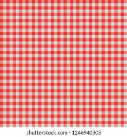 Vector illustration of background red and white cell