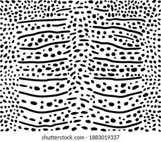 Vector illustration background of whale shark skin