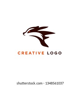 vector illustration badger logo designs