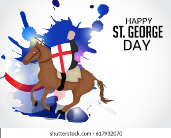 Vector illustration of a Banner for St George Day.