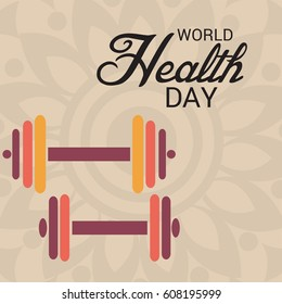 Vector illustration of a Banner for World Health Day.