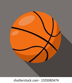 Vector illustration of a Basketball