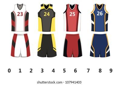 Royalty Free Basketball Uniform Images Stock Photos Vectors