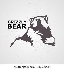 Vector illustration of bear.
