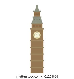 Vector illustration of Big Ben
