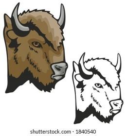Head Bison Images Stock Photos Vectors Shutterstock